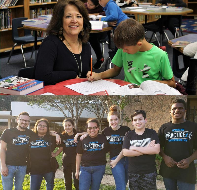 TWO VISD Employees Nominated for the 2019 H-E-B Excellence in Education Award Thumbnail Image