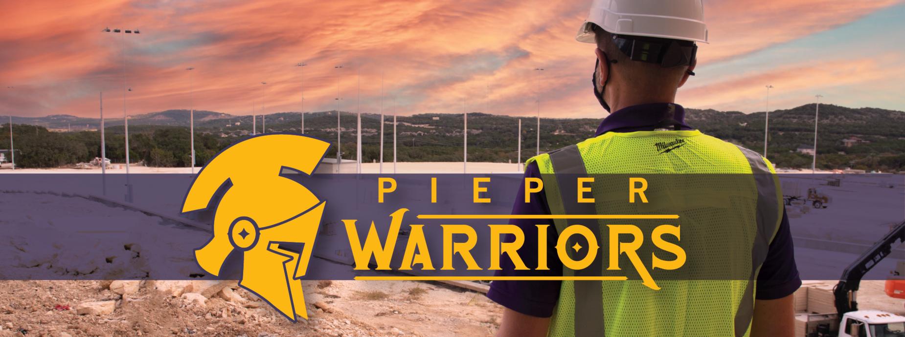 Pieper Warriors Banner