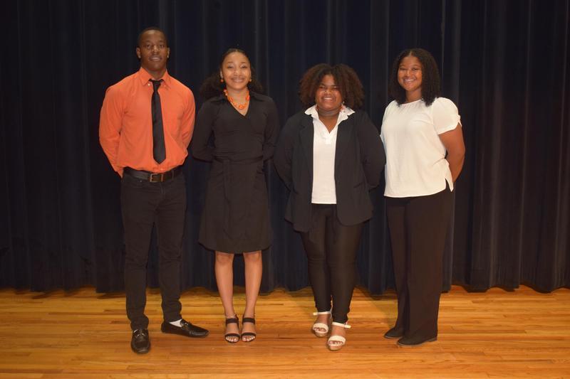 McComb High School Senior Class Representatives 2021-2022