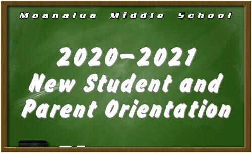 2020-2021 New Student & Parent Virtual Orientation Featured Photo