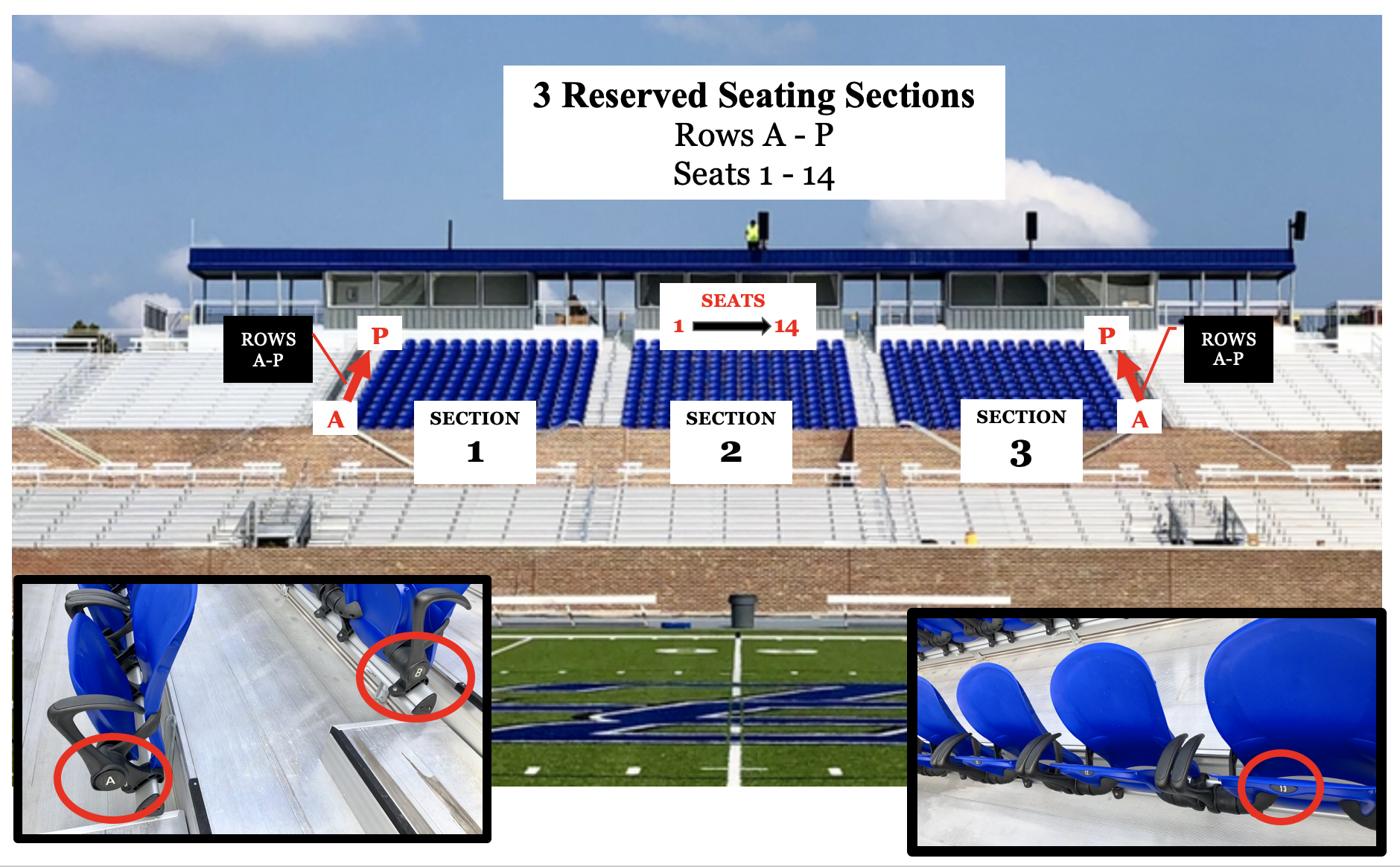 Reserved Seating Chart