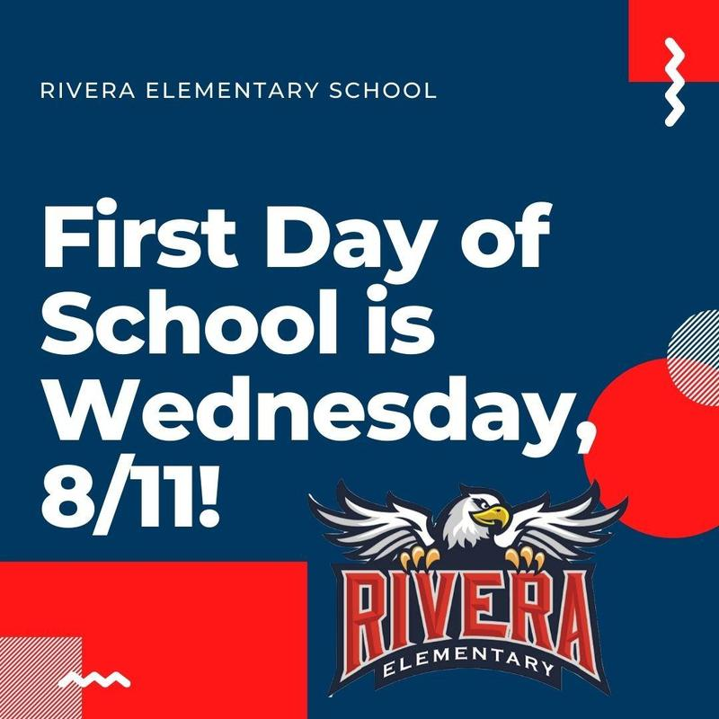 1st day of School is 8/11!