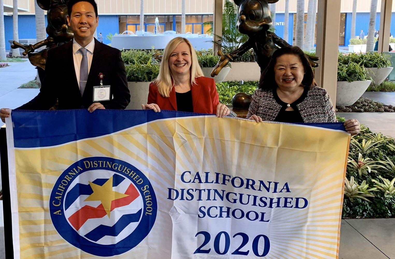 Carver 2020 CA Distinguished school