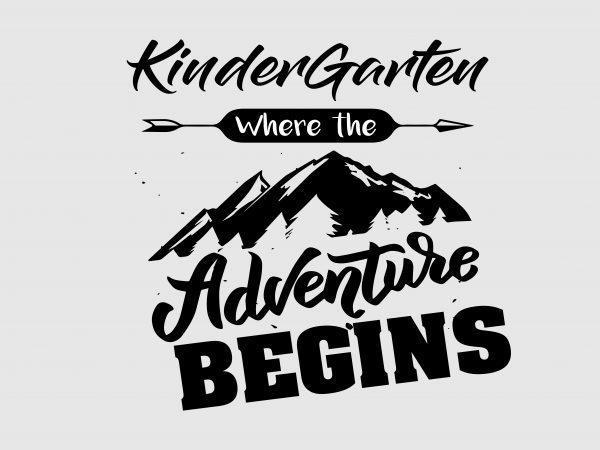 Kindergarten is where the adventure begins!