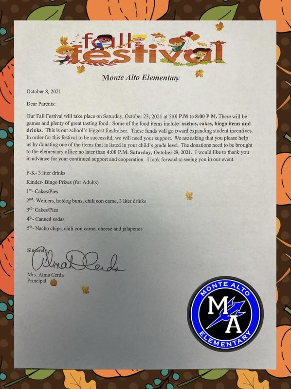 Fall Festival Donations Featured Photo