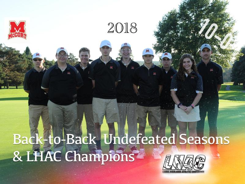 2018 LHAC Golf Champions Thumbnail Image