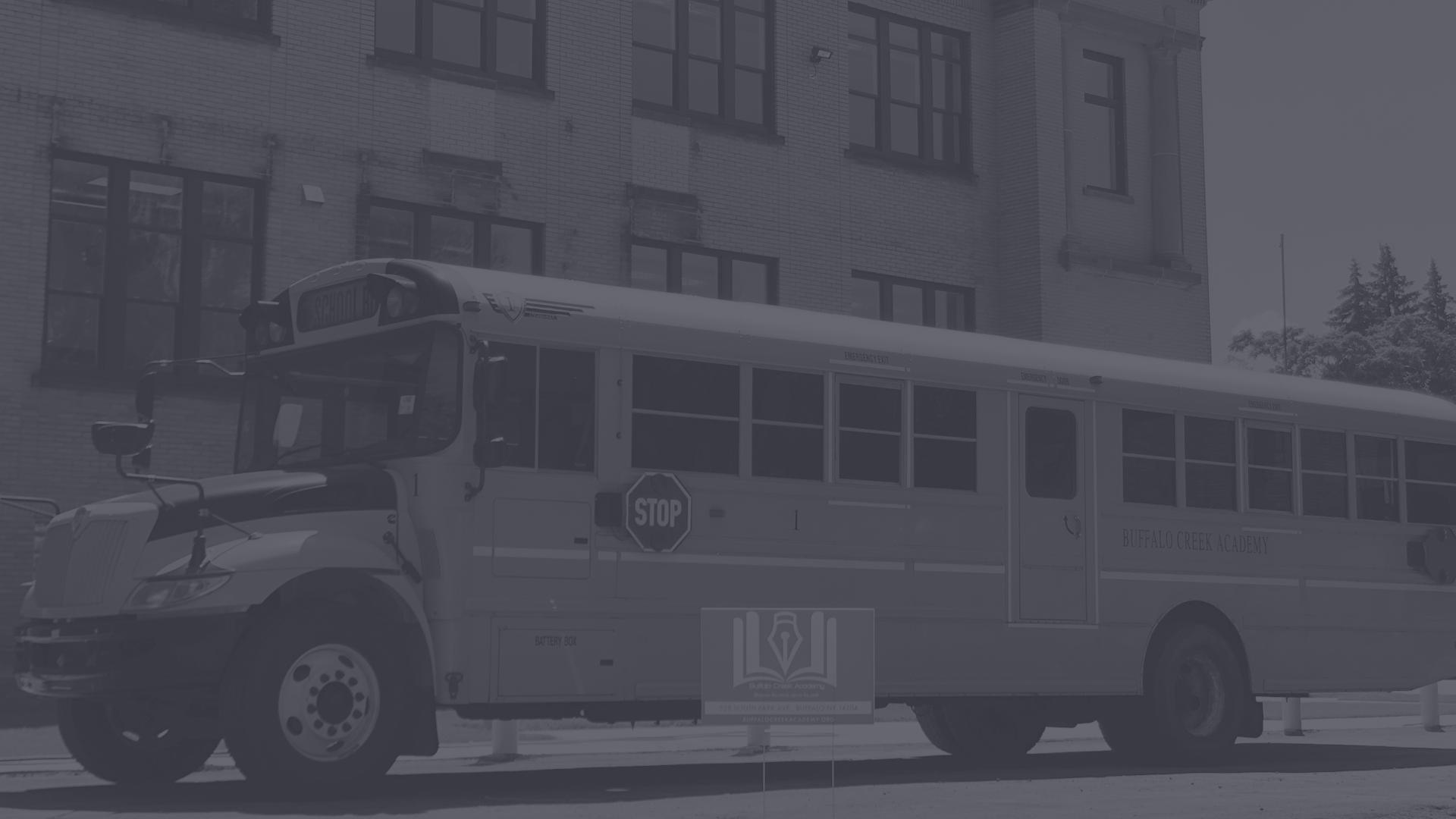 BCA Bus and School Building
