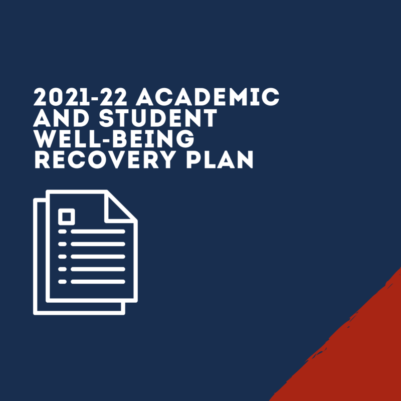 Graphic for Student Well-Being and Recovery Plan