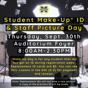 Make Up ID & Staff Picture Infographic