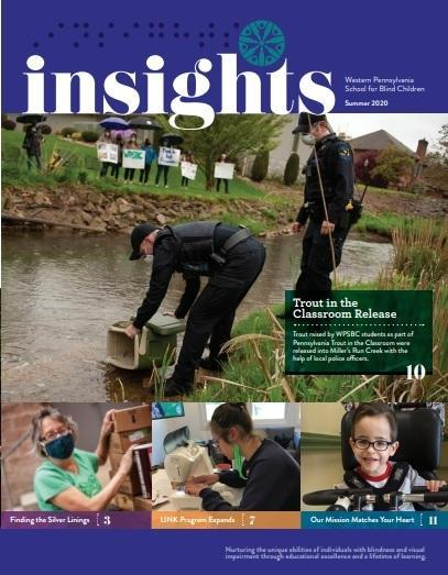This is the front cover of Insights
