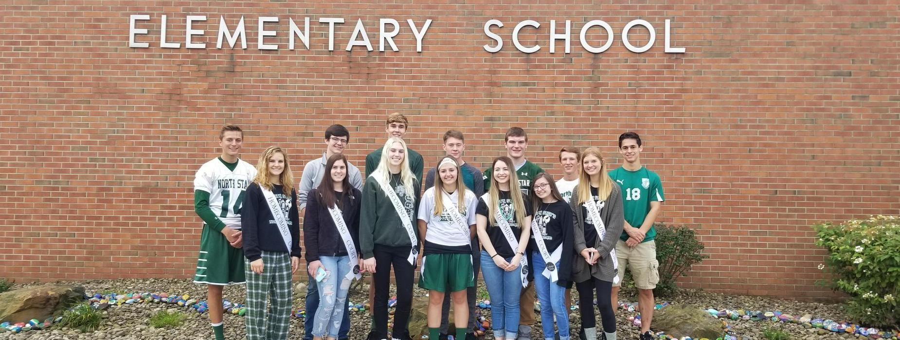 Homecoming Court at Central Elementary