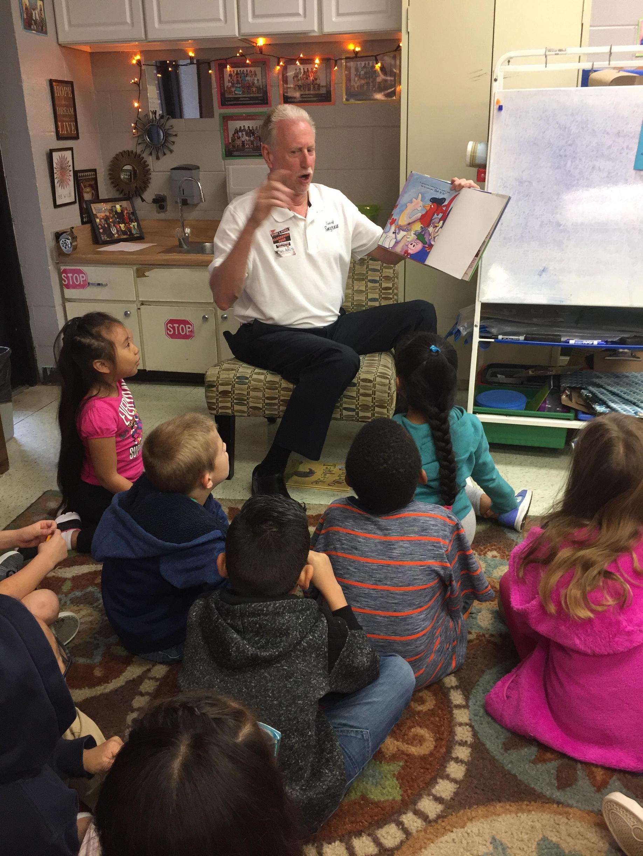 Marc Adkins Vice Mayer Smyrna  - Reading in Schools Day