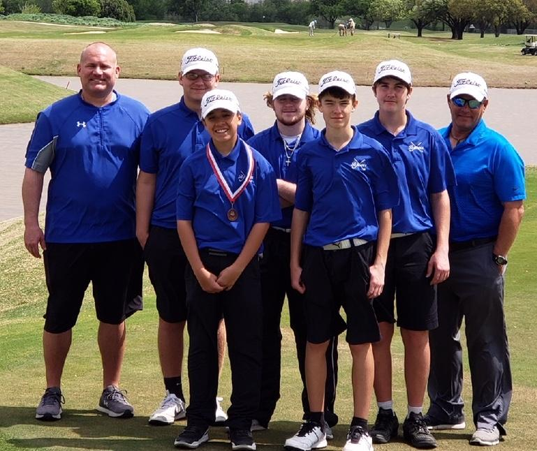 Brewer Boys' Golf Team Finishes Fifth in District