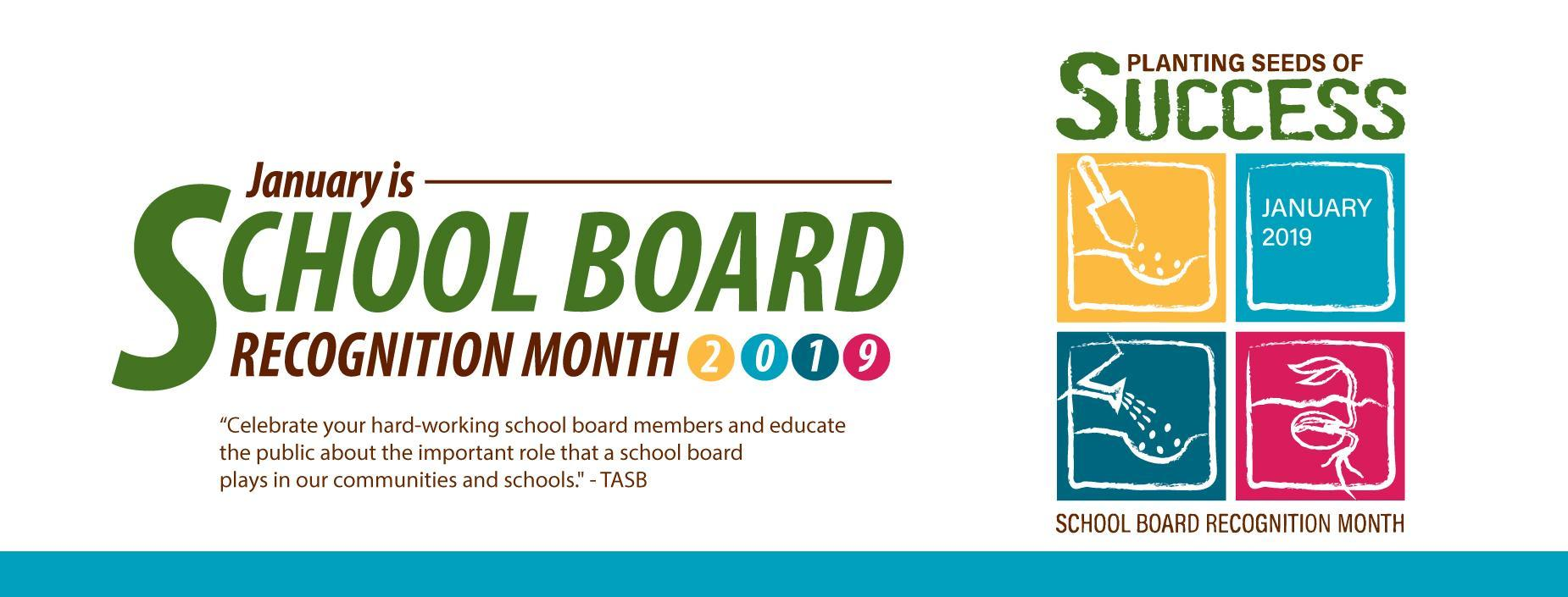 Board Recognition Month 2019