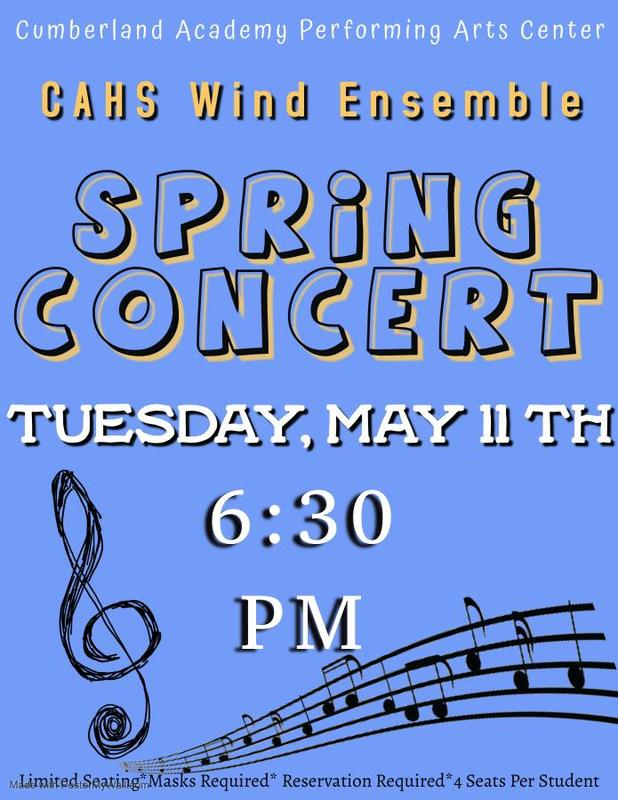 Wind Ensemble Concert Info Featured Photo
