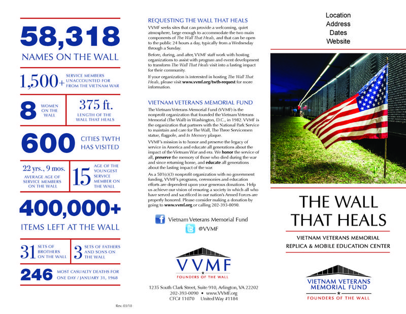 The Wall that Heals Vietnam Veterans Memorial Featured Photo