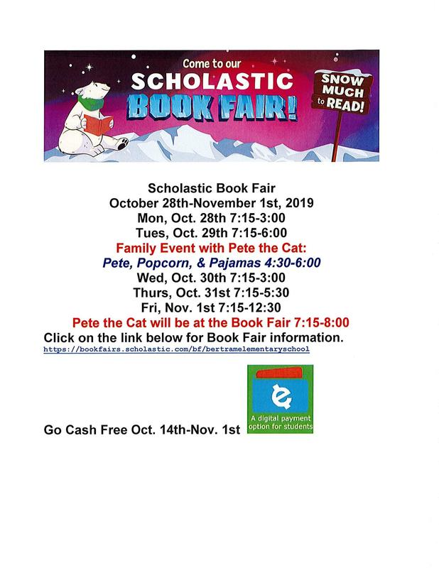Scholastic Book Fair October 28th - November 1st Thumbnail Image