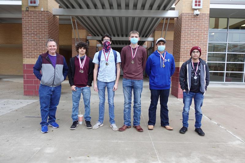 UIL Computer Science Team Palestine Meet 1st Place