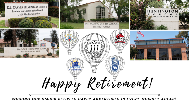 Congrats SMUSD Retirees