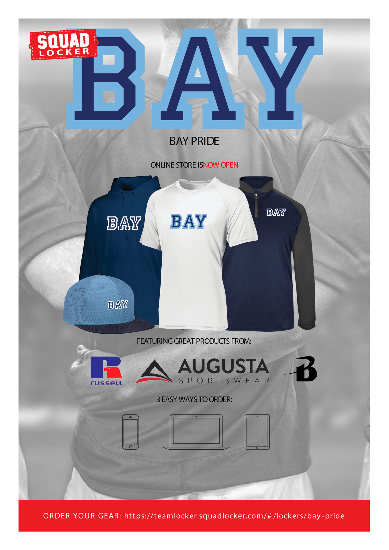 Order Your Bay Gear Today!