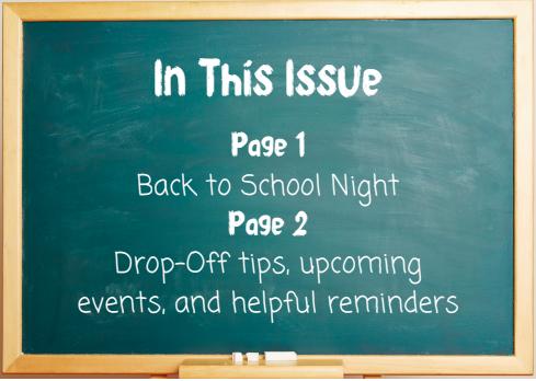 First Week of School Updates Featured Photo