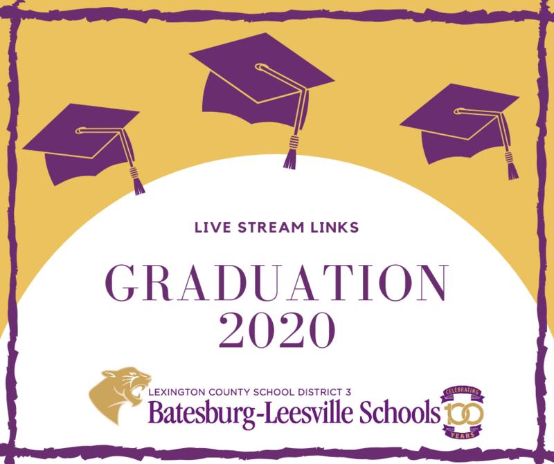 2020 Graduation Live Stream Information