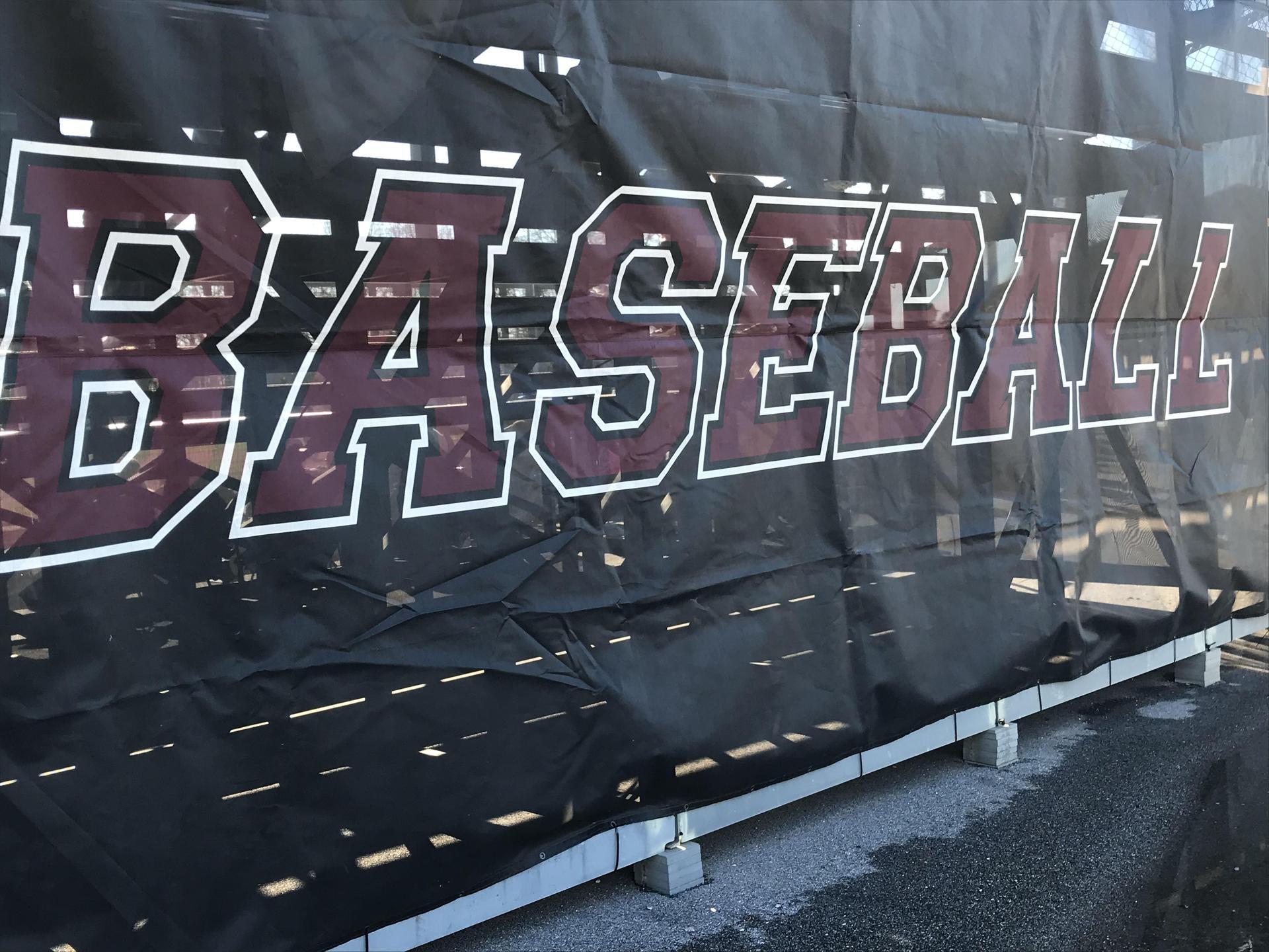 Clarkdale Baseball Field Banner