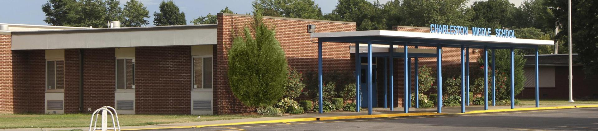 Charleston Middle School, front