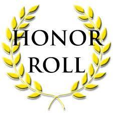 word - Honor Roll spelled out