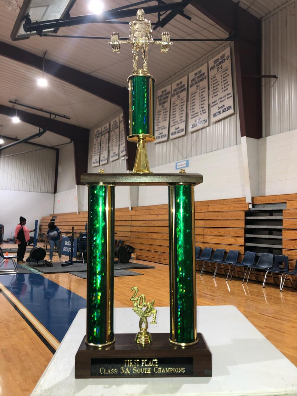 SEHS 2021 Boys South State Trophy