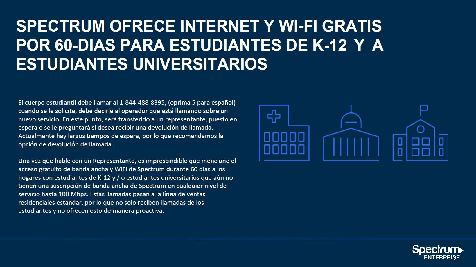 Spectrum Internet Y WiFi Gratis