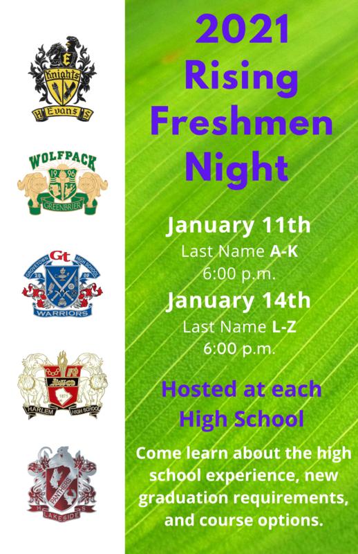 Freshmen Night CCBOE