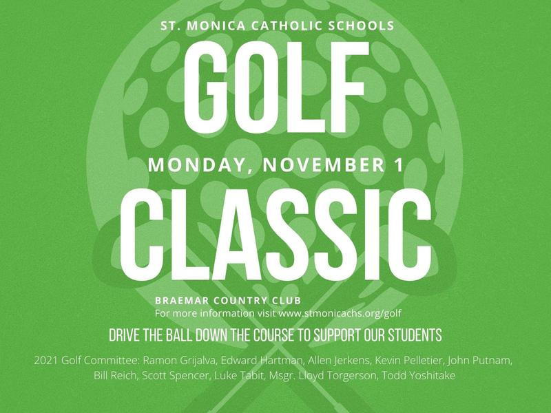 2021 St. Monica Catholic Schools Golf Classic Featured Photo