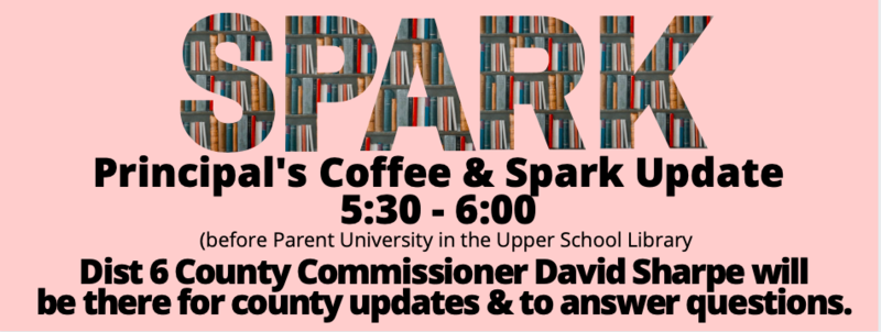 Parent University and Principal's Coffee with David Sharpe Featured Photo
