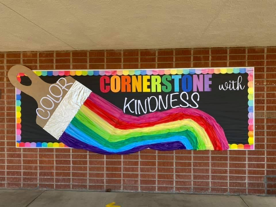 Color Cornerstone with Kindness
