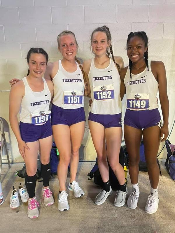 Tigerettes Succeed at State Track Meet! Thumbnail Image