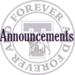 THS Announcements