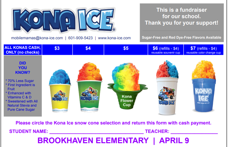 Kona Ice at BES Thumbnail Image