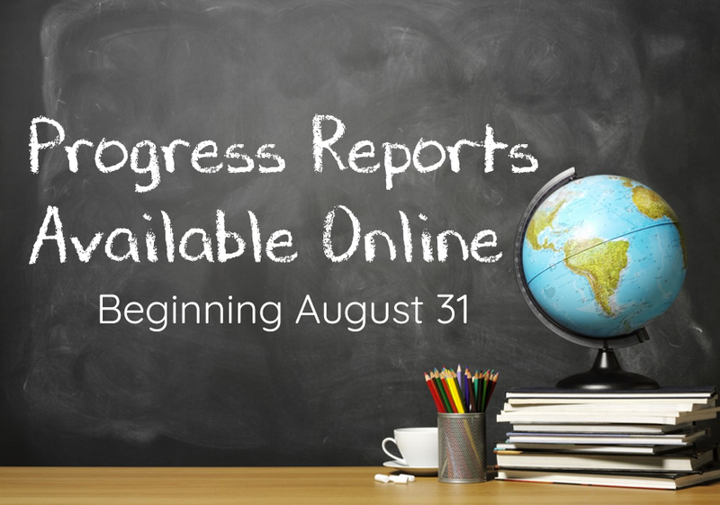 Progress Reports Available 8/31 Featured Photo
