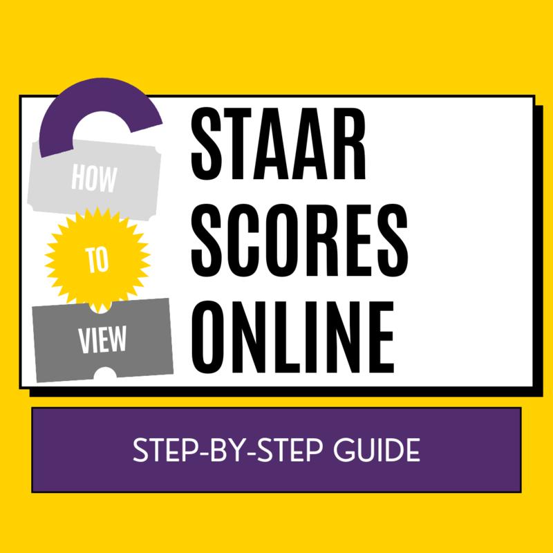 How to View STAAR Scores online