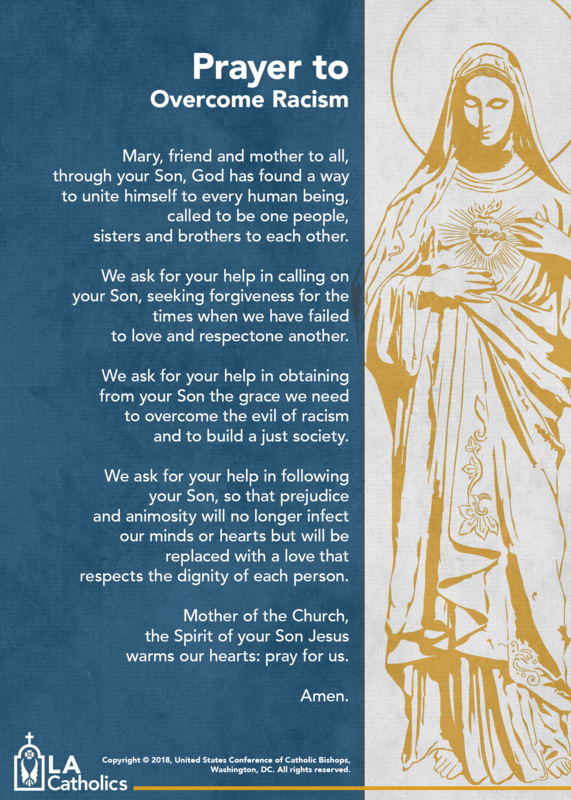 Message from the Archdiocese of Los Angeles Thumbnail Image
