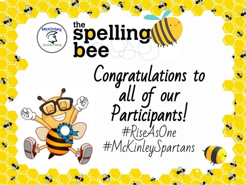 Congratulations spelling bee poster