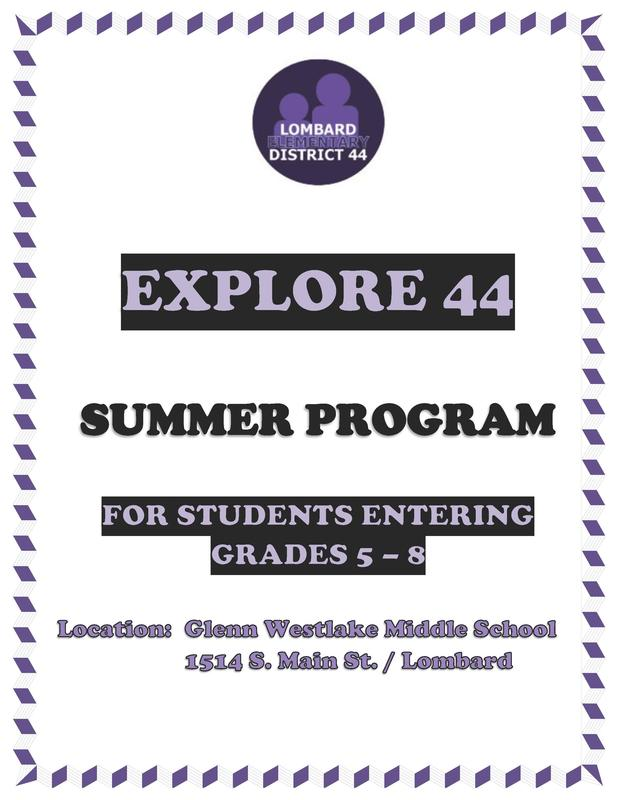 Explore 44 - Summer Enrichment Program Thumbnail Image