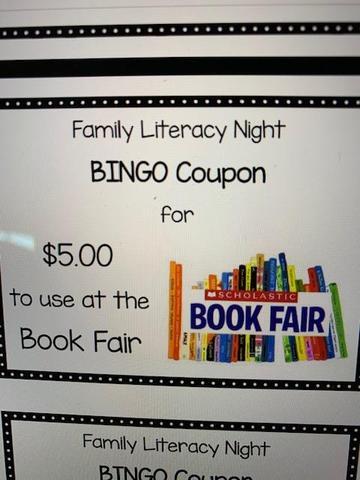 Book Fair $ Coupon