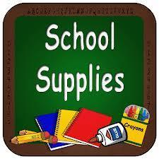 School Supply Lists for 2019-2020! Featured Photo