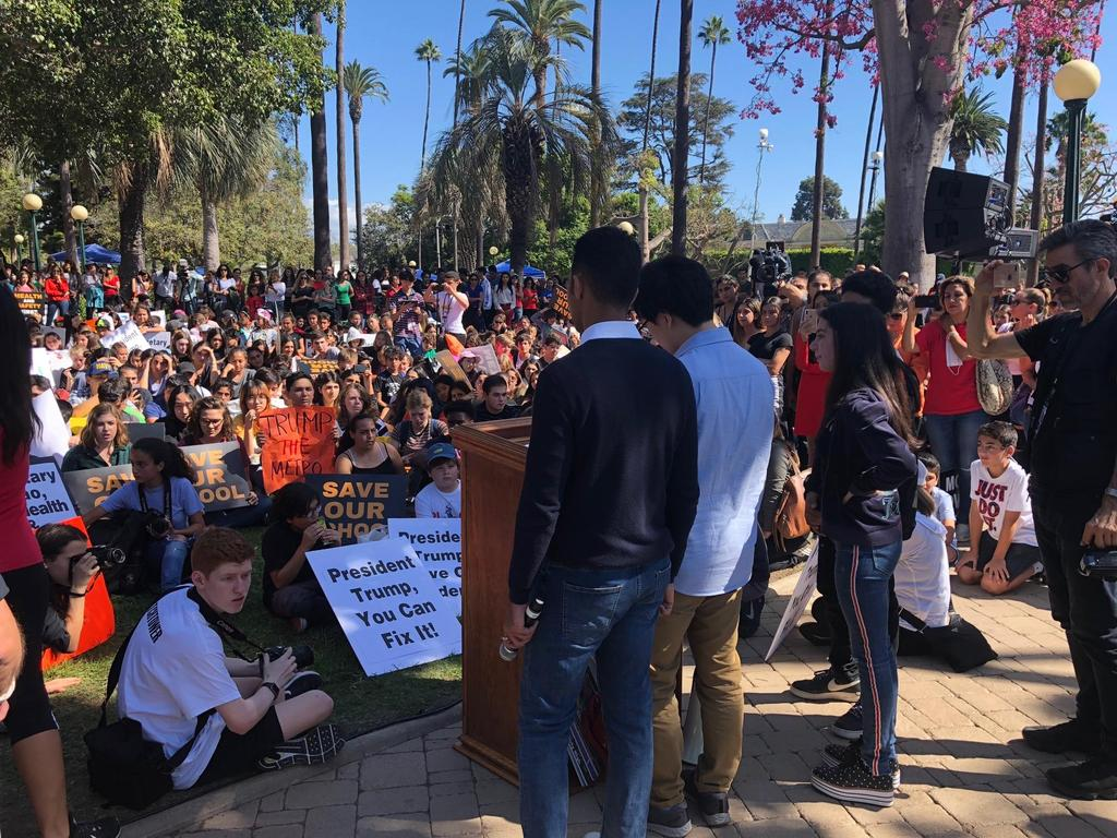 Student Action Committee - BHUSD Students' Community Walkout