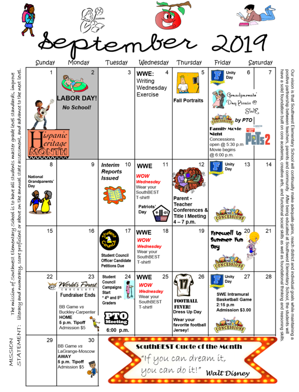 What's happening in September at SWE! Thumbnail Image