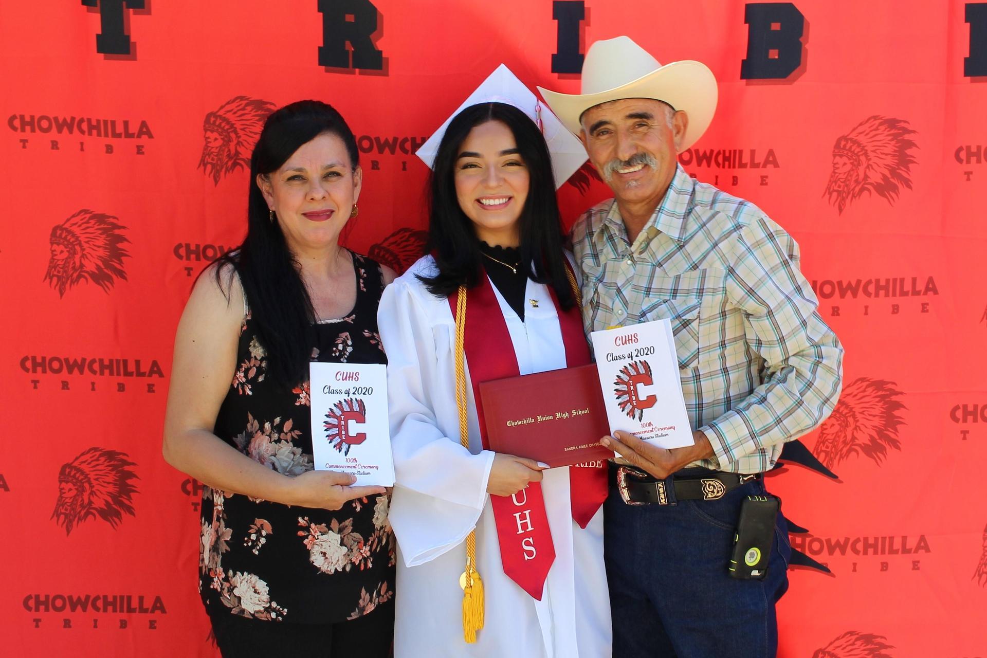 Sandra Chavez and family