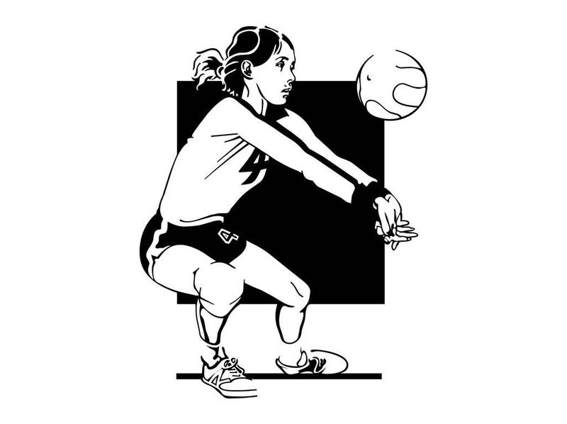 volleyball figure