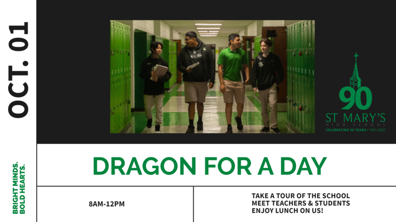 Dragon for a Day postcard